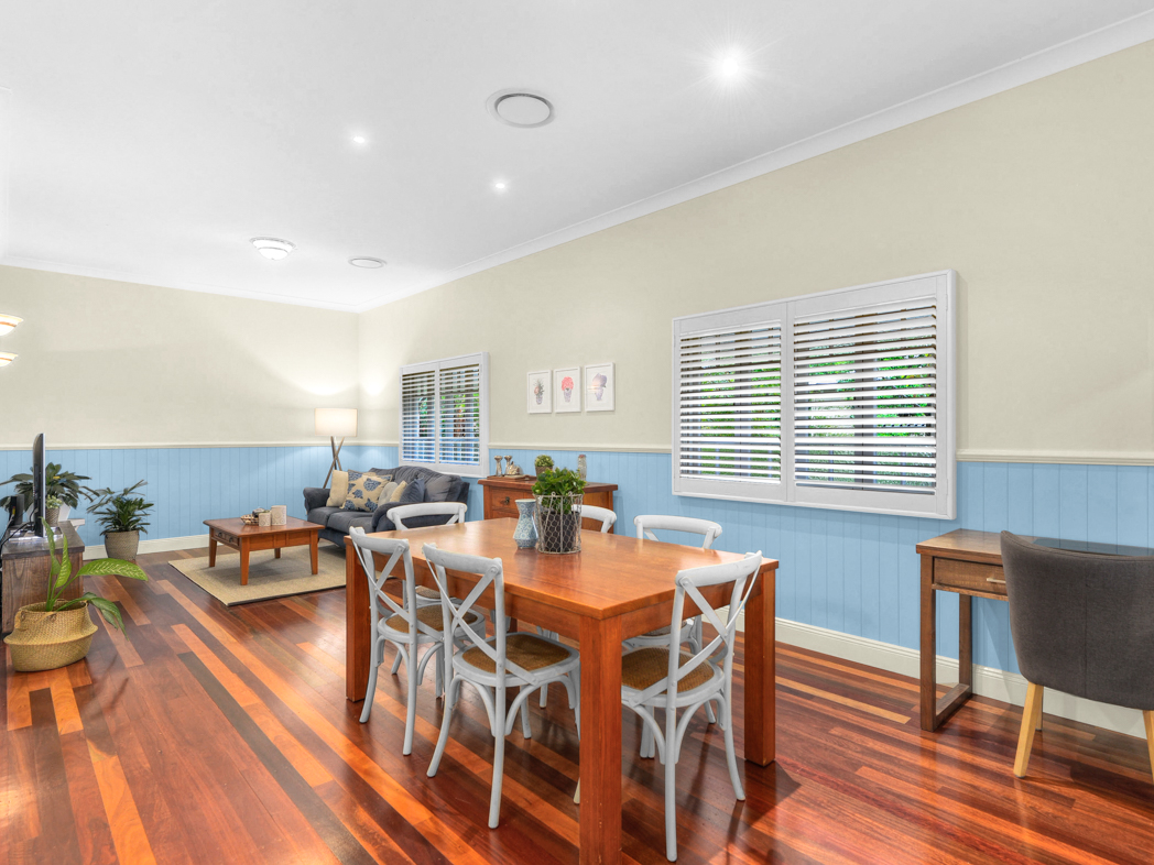 Panorama St, Ashgrove / Living Area - Interior Styling